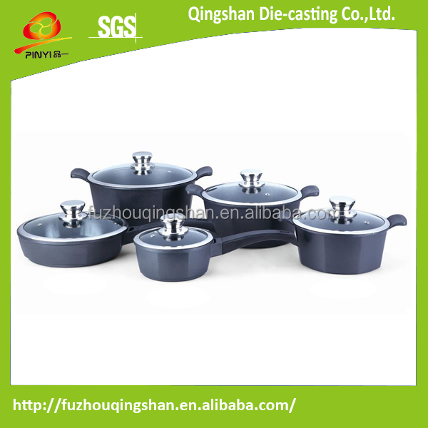 non-stick enamel cast iron cookware sets