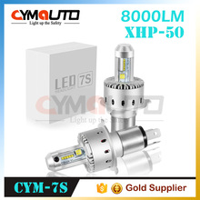 CYMAUTO easy installation XHP50 led bulb H7 play and plug integration Built-in LED Headlight H4