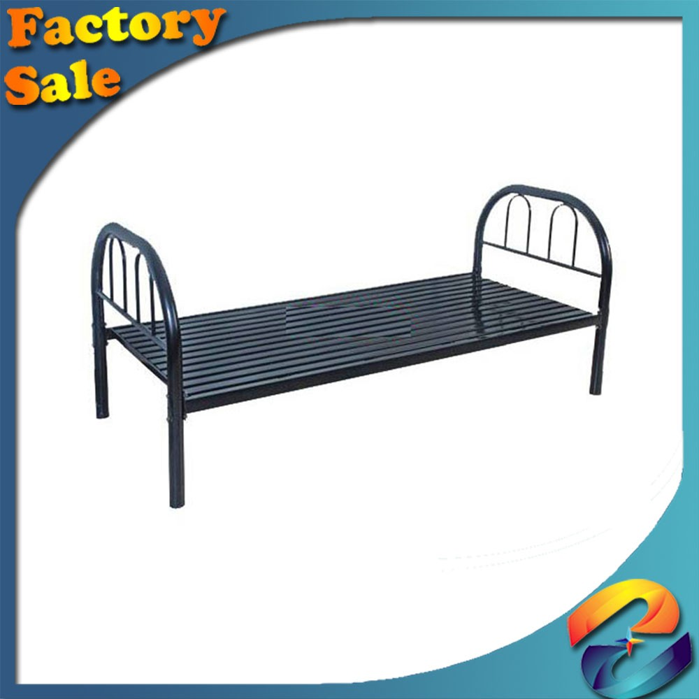 High quality Factory direct Export Frame parts metal bed/iron bed steel cots iron cots cots