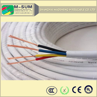 KVV 0.6/1kv 1.5 sqmm 4 cores pvc insulated pvc sheath control cable, pvc flexible power cable h05vv-f
