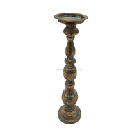Antique cheap tall candle holder for wedding table centerpiece decoration