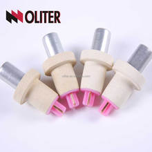 Manufacturer Supplier paper tube triangle tips expendable fast disposable thermocouple with probe