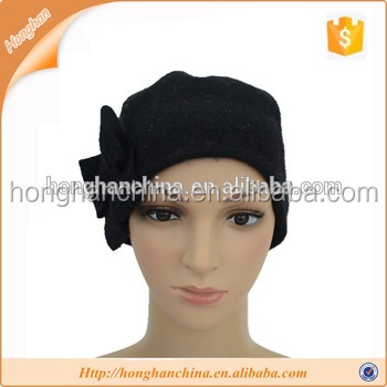 Quality useful knit fancy beret hat for women