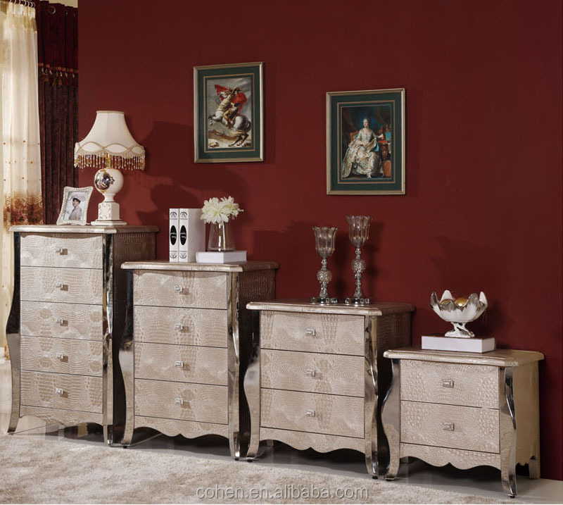 N109 stylish PU covering Two/five drawers chest/side cabinet
