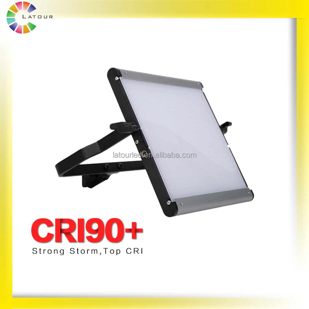chinese professional CRI 90 above outdoor ring light film shooting light 500 bulbs dslr camera led panel light