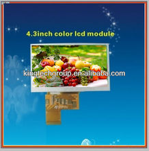 transflective color TFT LCD 4.3
