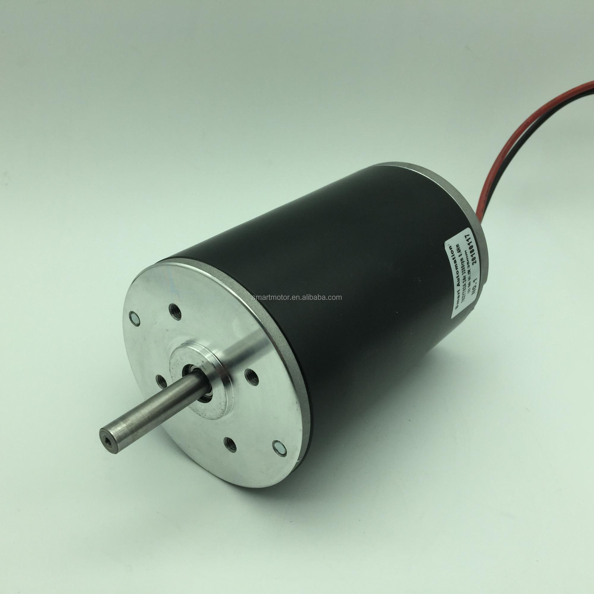 3'' 76mm Permanent Magnet Brush Dc Motor catalogue