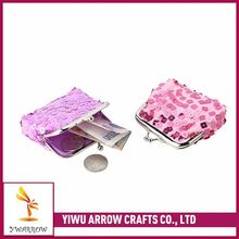 Newest selling attractive style wholesale top grain Coin Purses