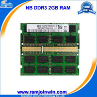 In large stock Lifetime warranty 1 piece ddr3 2gb ddr 1333 laptop memory