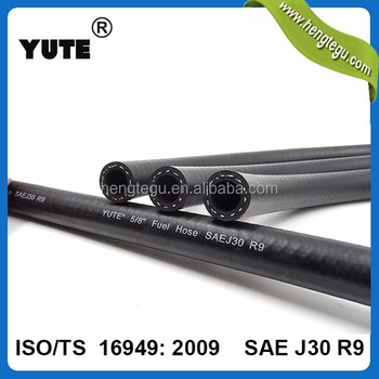 YUTE 1/8 inch din73379 cotton external braided fuel hose
