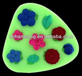 Cake Decorating Work Environment : Mini Cupcake Silicone Fondacake Fondant Molds Cake ...