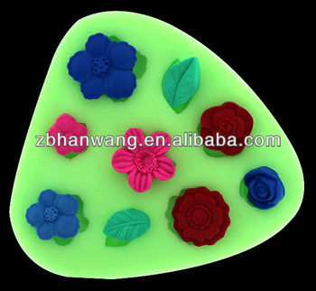 Mini Cupcake Silicone Fondacake Fondant Molds Cake ...
