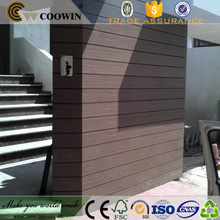 Exterior WPC wood plastic stone 3d wall panel