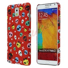 Luxury Skull Bumper Solid Back Cover Case For Samsung Galaxy Note3