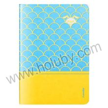 i-Smile Eloise Series Dual-color Stand Flip Leather Case Wake Sleep Smart Cover for iPad Mini