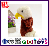 Creative family finger puppets cartoon hand puppets toys plush birds