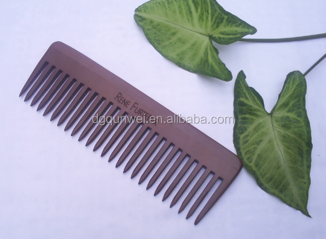 Wooden Combs Natural Green Sandalwood Combs Handmade Hair Trim Combs
