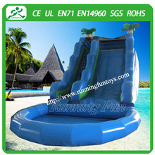 2015 high quality colorful inflatable pool slide,inflatable water slides wholesale