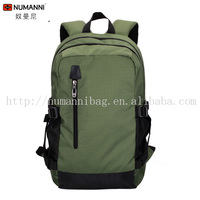 fashion personal green design waterproof durable nylon promotional backpack