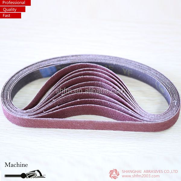 Abrasive emery belts for polishing matel and wood
