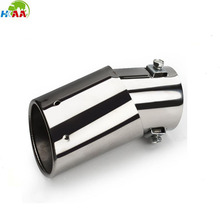 High quality CNC machining custom stainless steel exhaust muffler for car