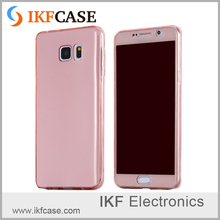 Ultra Thin High Clear Anti-knock Silicone Soft TPU Material Cell Phone Case With Seamless Style For Samsung Galaxy Note 5