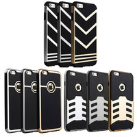 hot cheap anti shock V shaped armor cell phone case for iphone5/5s/5se
