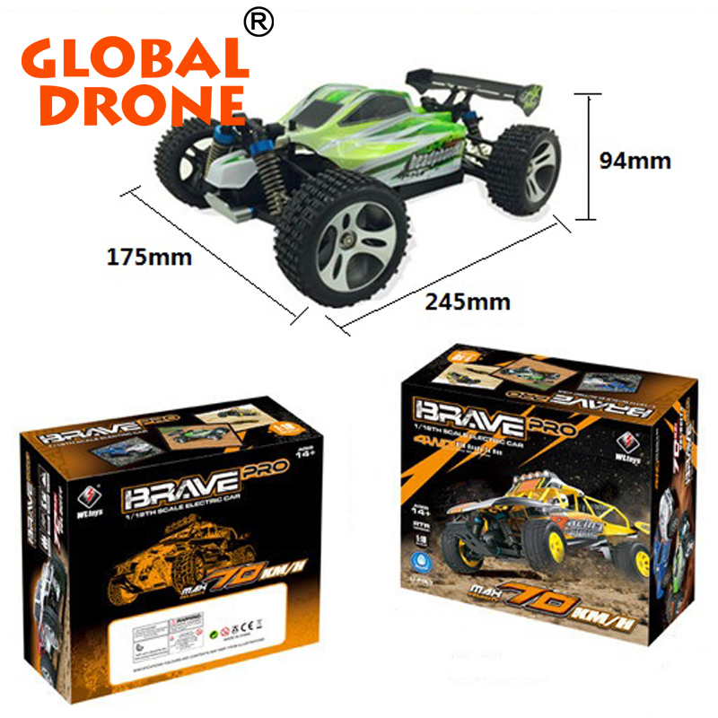 WL A959 2.4G 1/18 Scale 4WD Electric RC Drift Car For sale WL A959 rc drift car wholesale 1: 18 rc cars