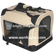 Pet Carrier Crate Folding Portable Soft Cage