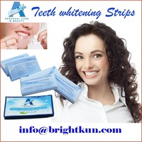 New Design Six percent HP A+ Teeth Whitening Strips, Home Dental Bleaching Whiter