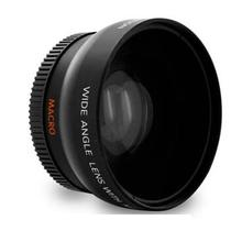 52MM 0.43X Wide Angle Soft Fisheye Macro Lens for Nikon D3100 D5000 D5100 D5200