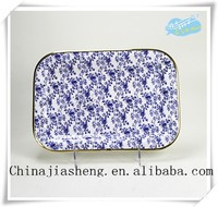 Chinese style plastic trays