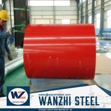 Perpainted Gi Steel Coil Ppgi Color Coated Galvanized Corrugated Metal Roofing Sheet Coil