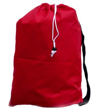 Laundry Bag, in Drawstring, Pouch, Shoulder Strap Style