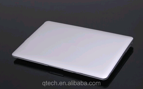 ultra thin laptop 14 inch netbook computer 4G DDR3 64G SSD Notebook PC Dual Core Silver Color