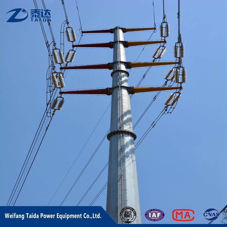 China Suppliers Q345 Electric Steel Utility Poles