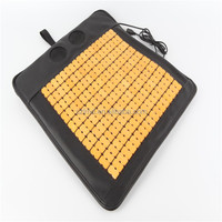 USB Cooling Bamboo Car Seat Cushion with Fan