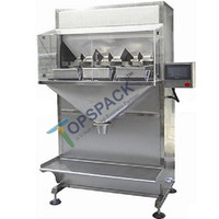 2 head pepper beans powder filling packing machine