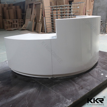 Modern Design Melamine Reception Table/Reception Desk/Bank Counter