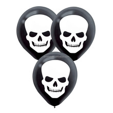Halloween party accessory skull printed props skeleton ballon decoration DS20016