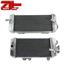 Motocross All Aluminum Radiator Assembly, High Performance Motorcycle Racing Radiators For KAWASAKI KX250F 2009 2010 2011