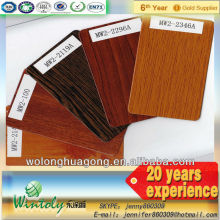 Heat printing wood grain powder paint factory