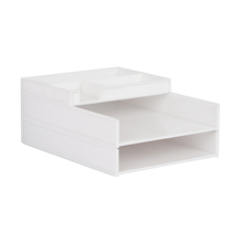 Hot Selling 2 Layer Stackable File Tray Desktop Organizer stationery sets Desk Accessories