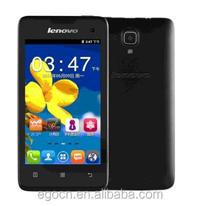 lowest china phone 4 inch Lenovo A396 Quad core Smartphone WCDMA Android Mobile Phone-Black/White/Pink
