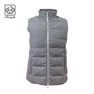 Womens Usb Battery Heated Vest, Woolen Outer Shell Vest