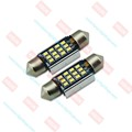 Lifetime warranty Low Price car led Festoon 6500K 12 LED SMD2016(36MM/39MM/42MM) 12-24V Canbus LED car led festoon