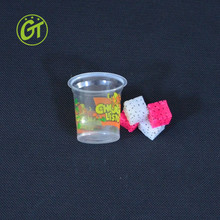 Mini Fruit Jelly Cup 2.5oz Tast Plastic Cup Personalized Cups for Kids
