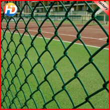 chain link fabric/vinyl coated pvc coated chain link fence price/Diamond Galvanized Chain Link Wire Mesh Fence