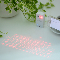 Wireless Laser Projection Bluetooth Virtual Keyboard for Iphone, Ipad, Smartphone and Tablets