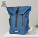Fashion 17inch waterproof large students ultra slim soft laptop backpack nylon